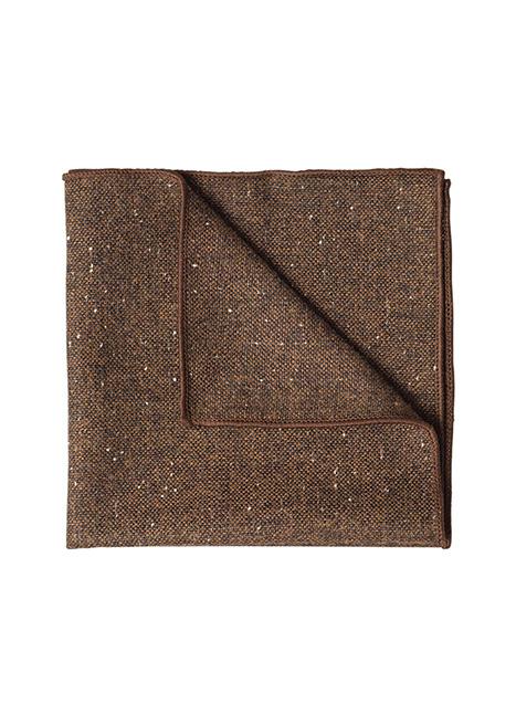 Ανδρικό Μαντήλι Manetti accessories camel black