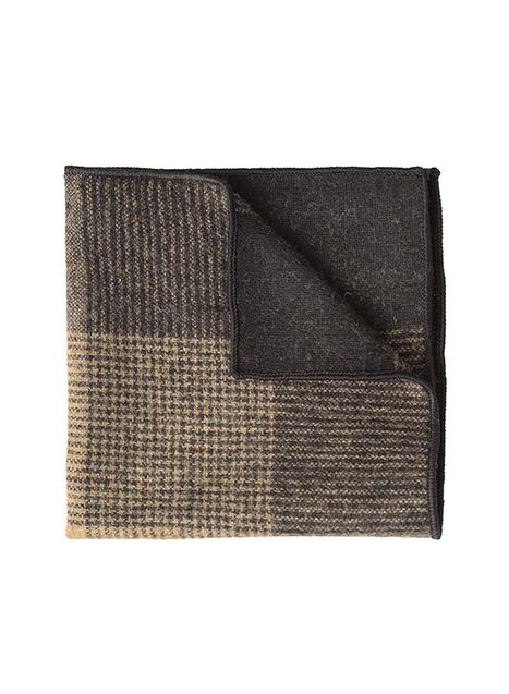 Ανδρικό Μαντήλι Manetti accessories fango-black