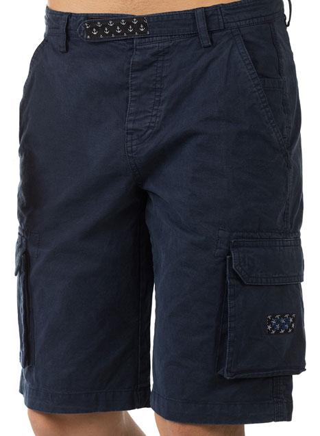 Ανδρική Βερμούδα cargo Manetti navy blue