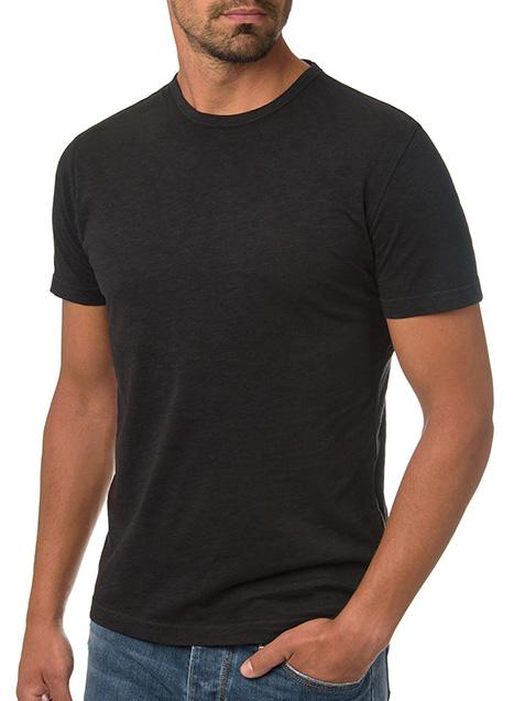 Ανδρικό T-Shirt Manetti casual black
