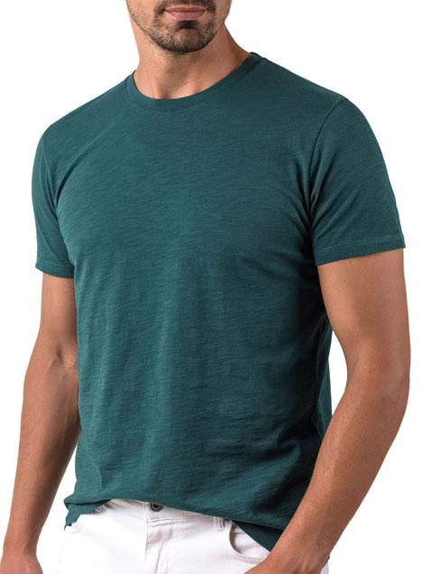 Ανδρικό T-shirt κοντό μανίκι Manetti casual deep teal