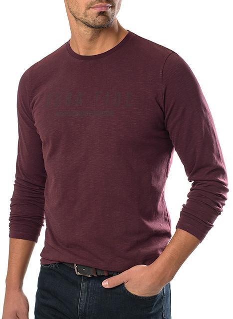 Ανδρικό T-shirt Manetti casual red wine