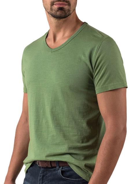 Ανδρικό T-shirt Manetti casual green