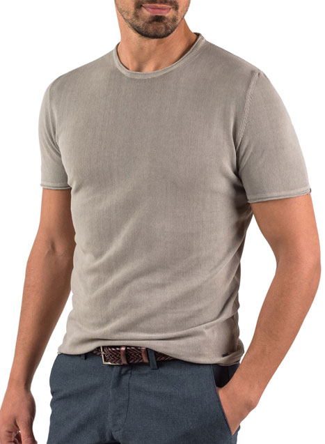 Ανδρικό Πλεκτή μπλούζα Manetti casual fango