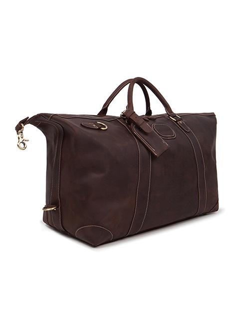 Ανδρικό Weekend bag Manetti casual brown vintage