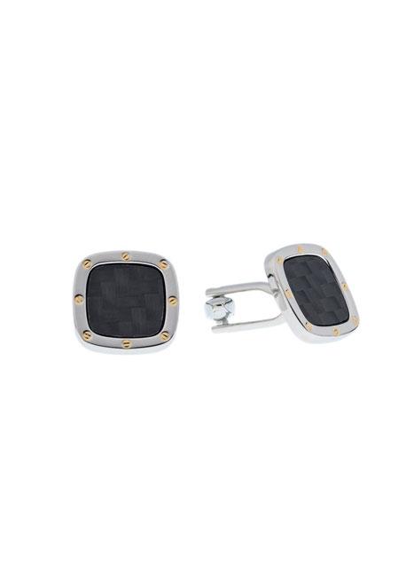 Ανδρικό Μανικετόκουμπα Manetti accessories anthracite