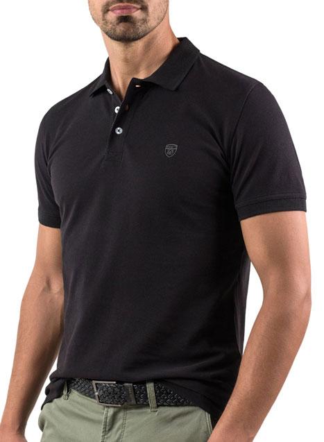 Ανδρικό Polo Manetti casual black