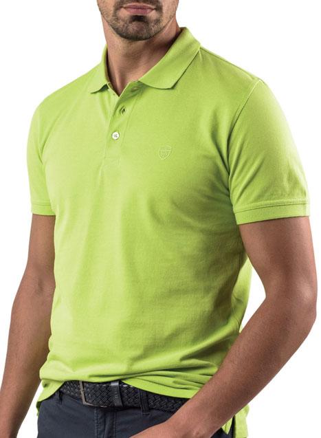 Ανδρικό Polo Manetti casual sour green