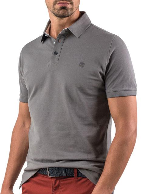 Ανδρικό Polo Manetti casual grey