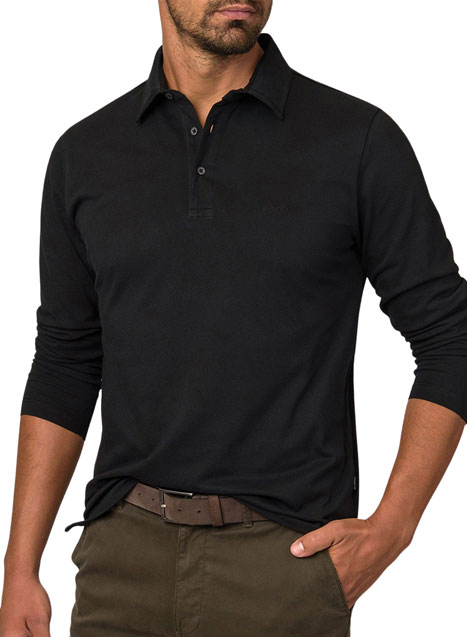 Ανδρικό Polo shirt Manetti casual black