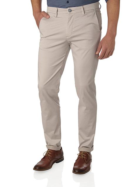 Ανδρικό Παντελόνι chinos Manetti casual light beige