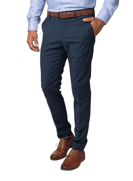 Ανδρικό Παντελόνι Manetti blue