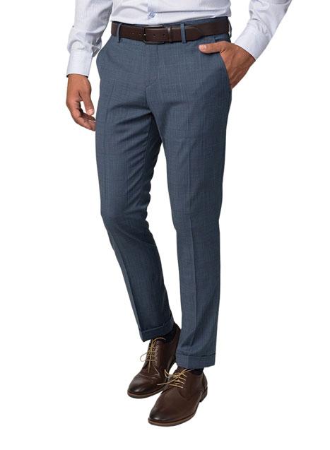 Ανδρικό Παντελόνι Manetti bluette