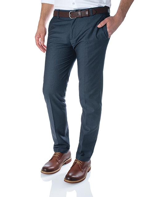 Ανδρικό Παντελόνι Manetti formal blue