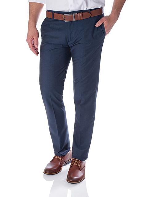 Ανδρικό Παντελόνι Manetti formal midnight blue