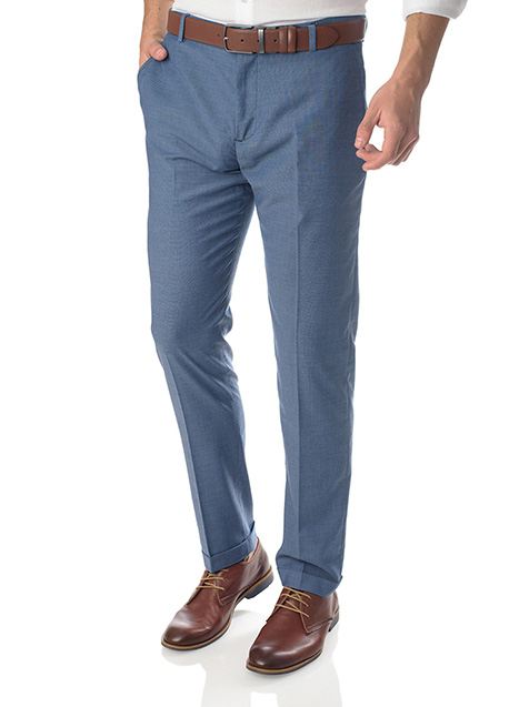 Ανδρικό Παντελόνι Manetti formal light blue