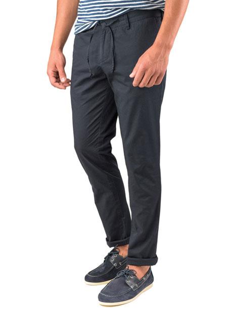 Ανδρικό Παντελόνι chinos Manetti casual navy blue