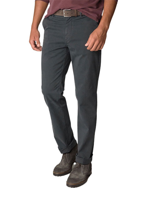 Ανδρικό Παντελόνι chinos Manetti dark grey