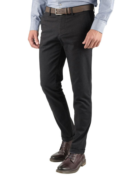 Ανδρικό Παντελόνι chinos Manetti casual blue-black