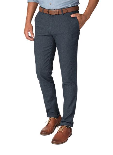 Ανδρικό Παντελόνι chinos Manetti indigo blue