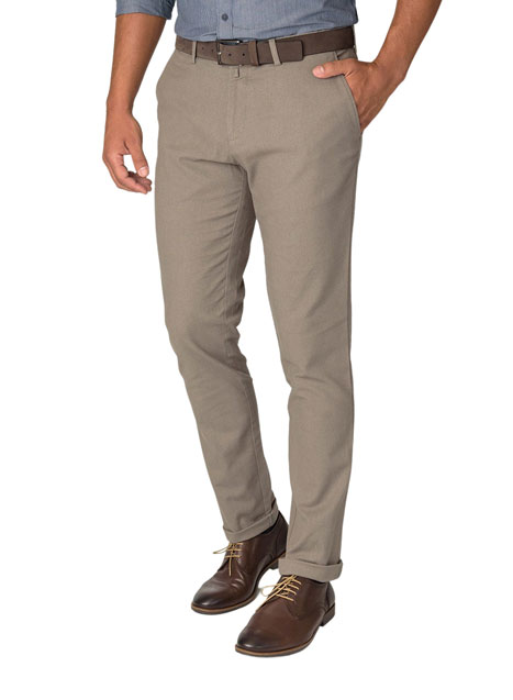 Ανδρικό Παντελόνι chinos Manetti grey beige