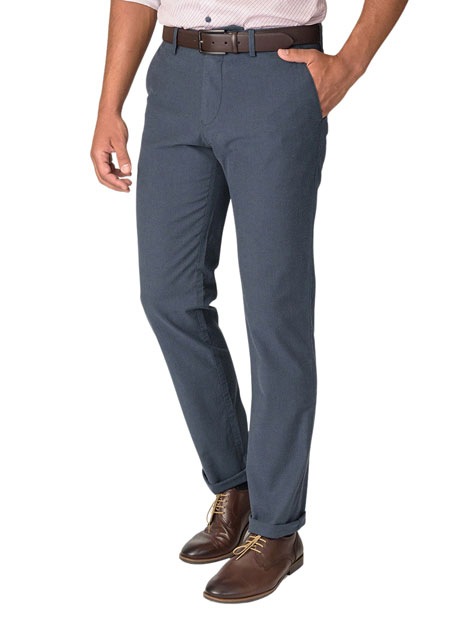 Ανδρικό Παντελόνι chinos Manetti casual dark indigo