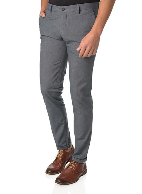 Ανδρικό Παντελόνι chinos casual indigo blue