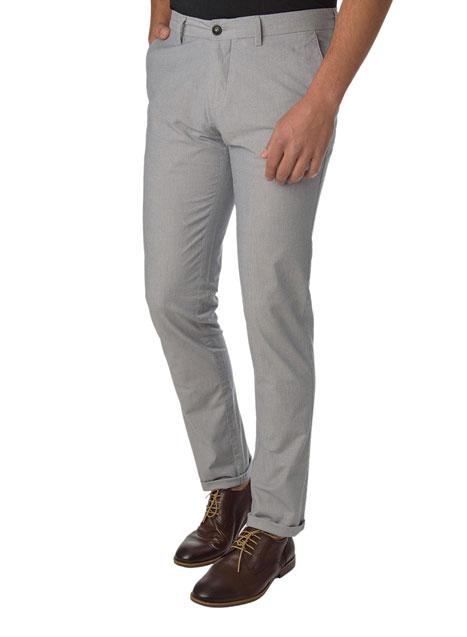 Ανδρικό Παντελόνι chinos casual grey light blue