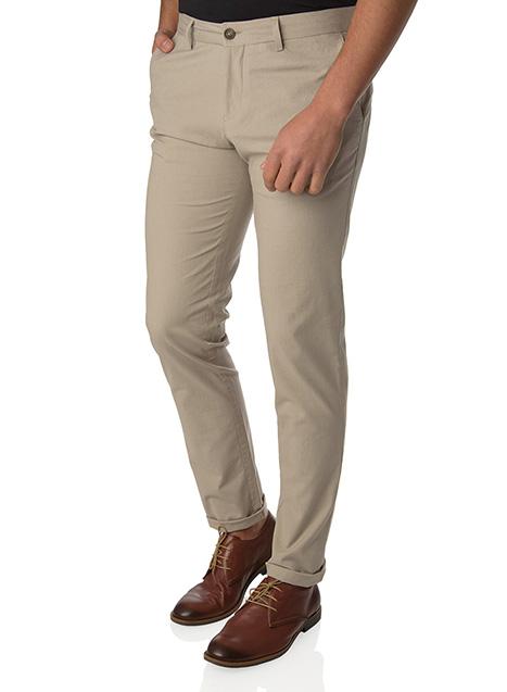 Ανδρικό Παντελόνι chinos casual beige