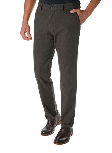 Ανδρικό Παντελόνι chinos Manetti casual grey