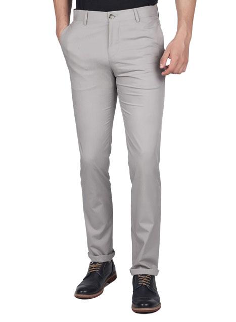 Ανδρικό Παντελόνι formal Manetti formal dirty grey