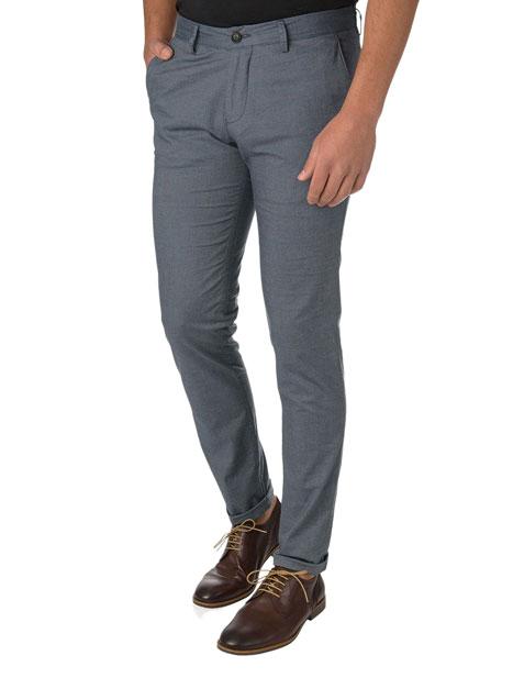 Ανδρικό Παντελόνι chinos casual dirty blue