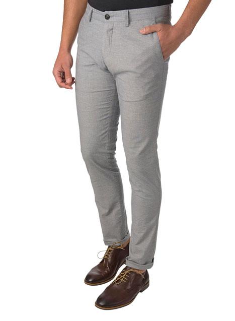 Ανδρικό Παντελόνι chinos casual grey blue