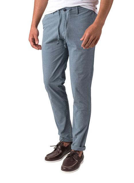 Ανδρικό Παντελόνι chinos Manetti casual indigo