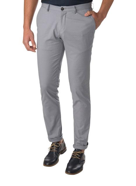 Ανδρικό Παντελόνι chinos casual grey