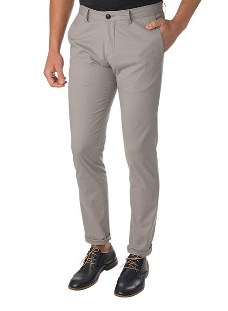Ανδρικό Παντελόνι chinos casual dirty grey
