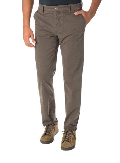 Ανδρικό Παντελόνι chinos Manetti casual khaki brown