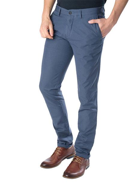 Ανδρικό Παντελόνι chinos Manetti casual indigo blue