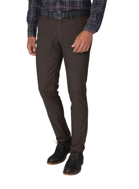 Ανδρικό Παντελόνι chinos Manetti warm brown