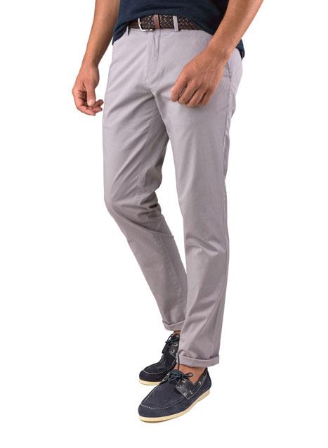Ανδρικό Παντελόνι chinos Manetti casual ice grey