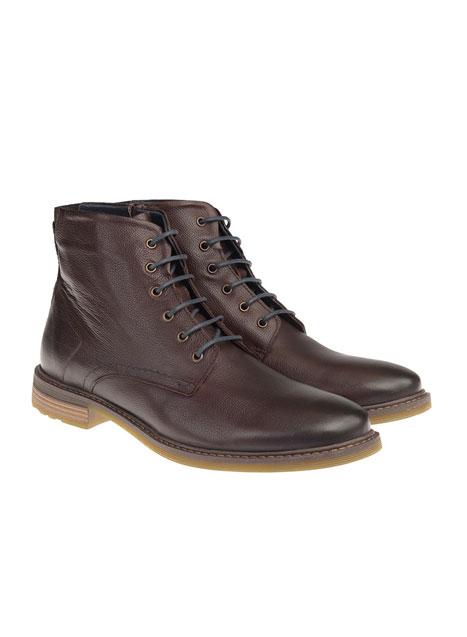 Ανδρικό Δερμάτινη μπότα Manetti brown