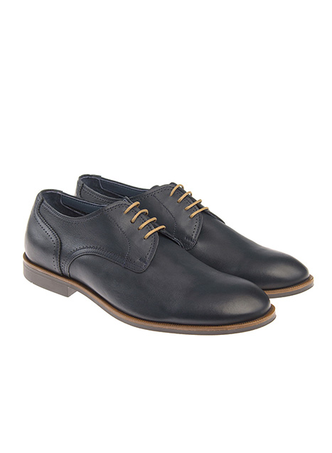 Ανδρικό Παπούτσι δετό Manetti formal dark blue