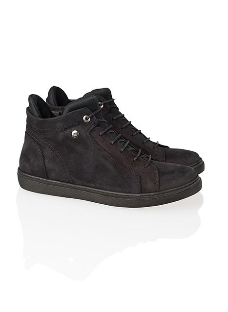 Ανδρικό Sneaker μποτάκι Manetti casual black