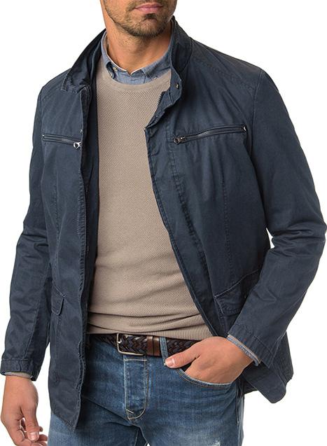 Ανδρικό Μπουφάν Manetti casual blue