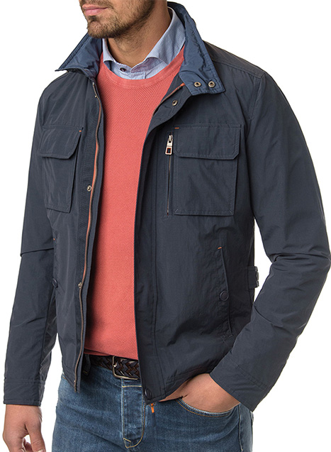 Ανδρικό Jacket Manetti casual blue