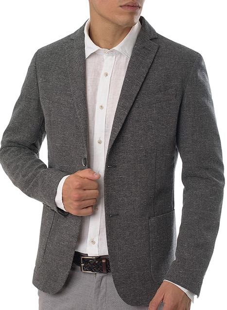 Ανδρικό Σακάκι Manetti formal grey