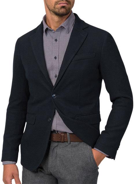 Ανδρικό Σακάκι Manetti formal blueblack