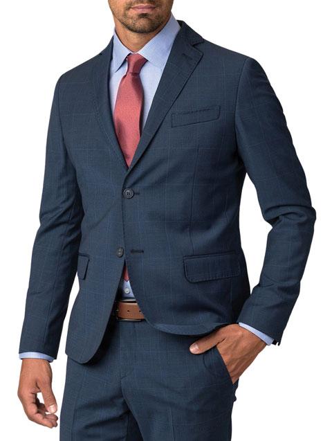 Ανδρικό Σακάκι Manetti formal blue