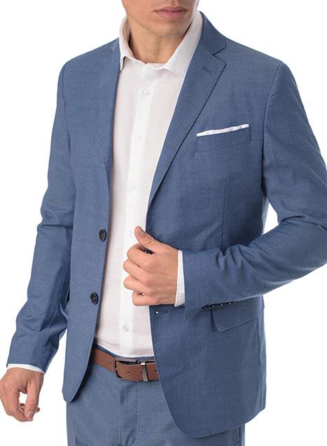 Ανδρικό Σακάκι Manetti formal light blue