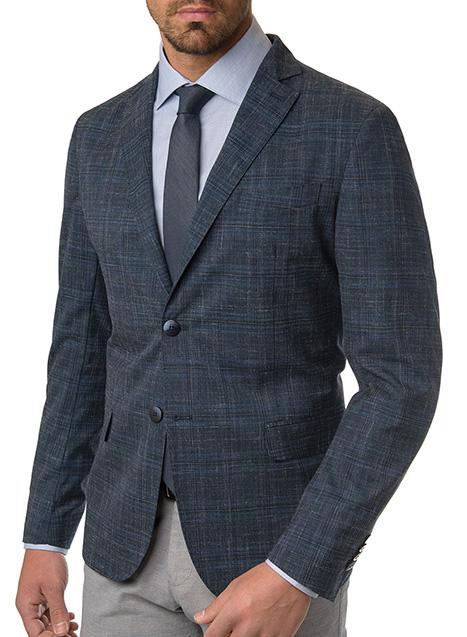 Ανδρικό Σακάκι Manetti formal indigo blue